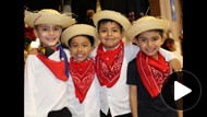 Dance performance by 1st graders