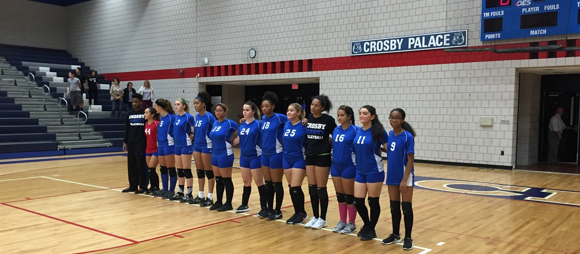 2016 Crosby Volleyball