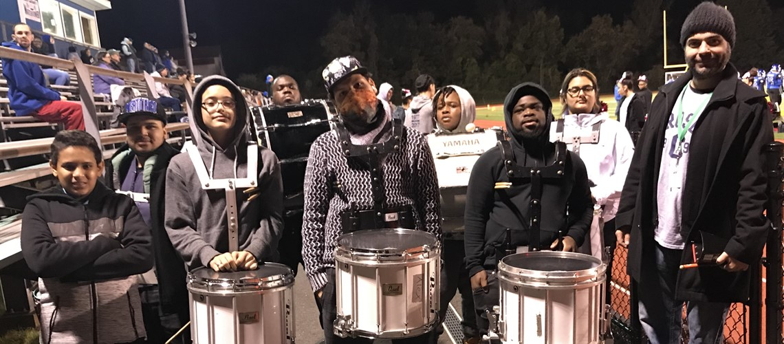 Crosby Band ~ Drum Line