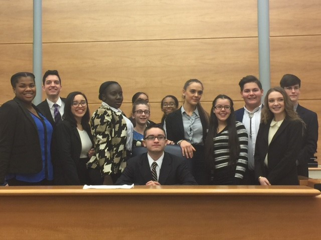 CHS Mock Trial Team 2016-2017