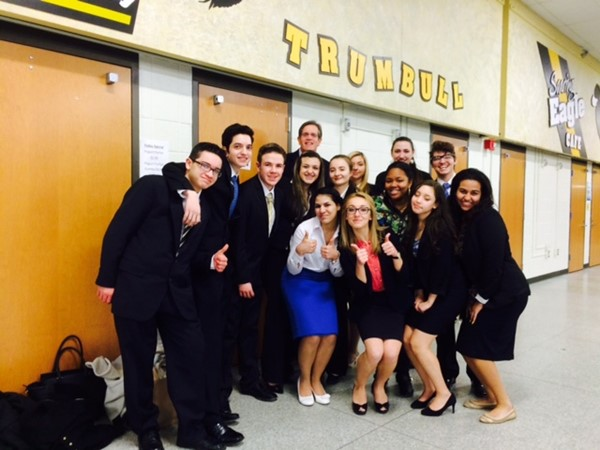 Crosby Mock Trial Team 2015