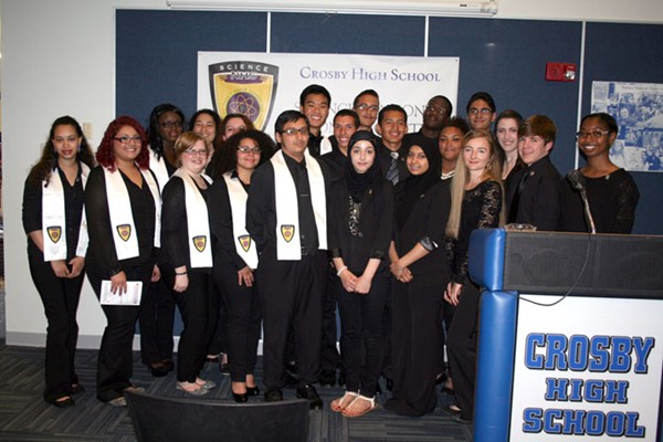 Science National Honor Society, 2014