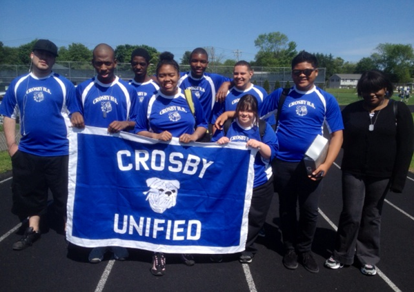 Unified Track and Field at Southington 2014
