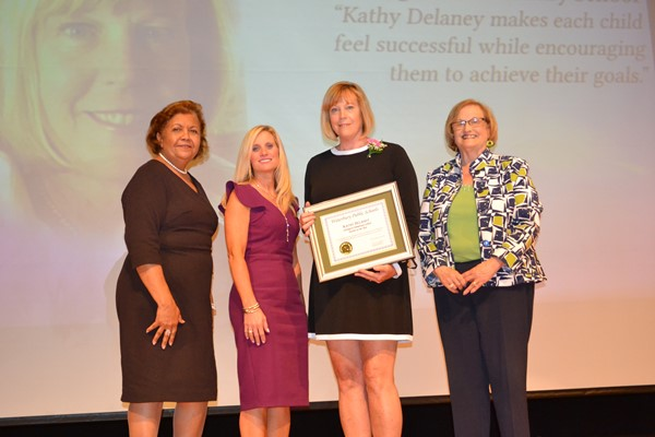 Kathy Delaney, Carrington Elementary School
