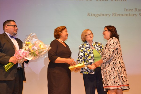 Inez Ramirez, VP at Kingsbury, is named Administrator of the Year
