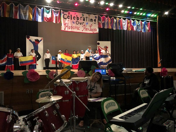 Parade of Cultures-Hopeville Elementary School