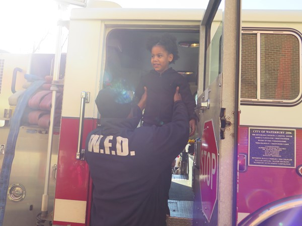 Firefighters visit Generali School