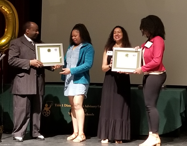 Community Award winner New Opportunities -  Dana Evora & Alicia Smith