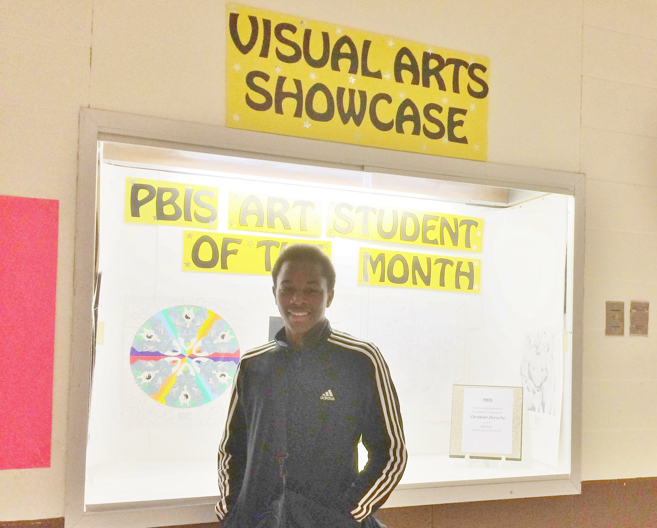 PBIS Students of the Month - Art