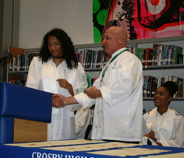Crosby's SNHS induction ceremony 2017