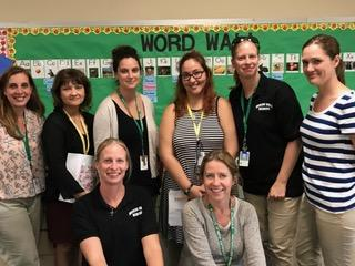 Mrs. Pelletier, Ms Aldorando, Mrs. Wheeler, Ms. Rodruguez,  Mrs. O'Leary, Mrs. Rua, Mrs. Hart Mrs. Biandi