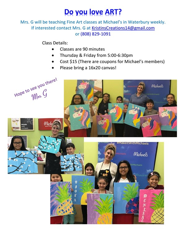 Michael's Art Classes