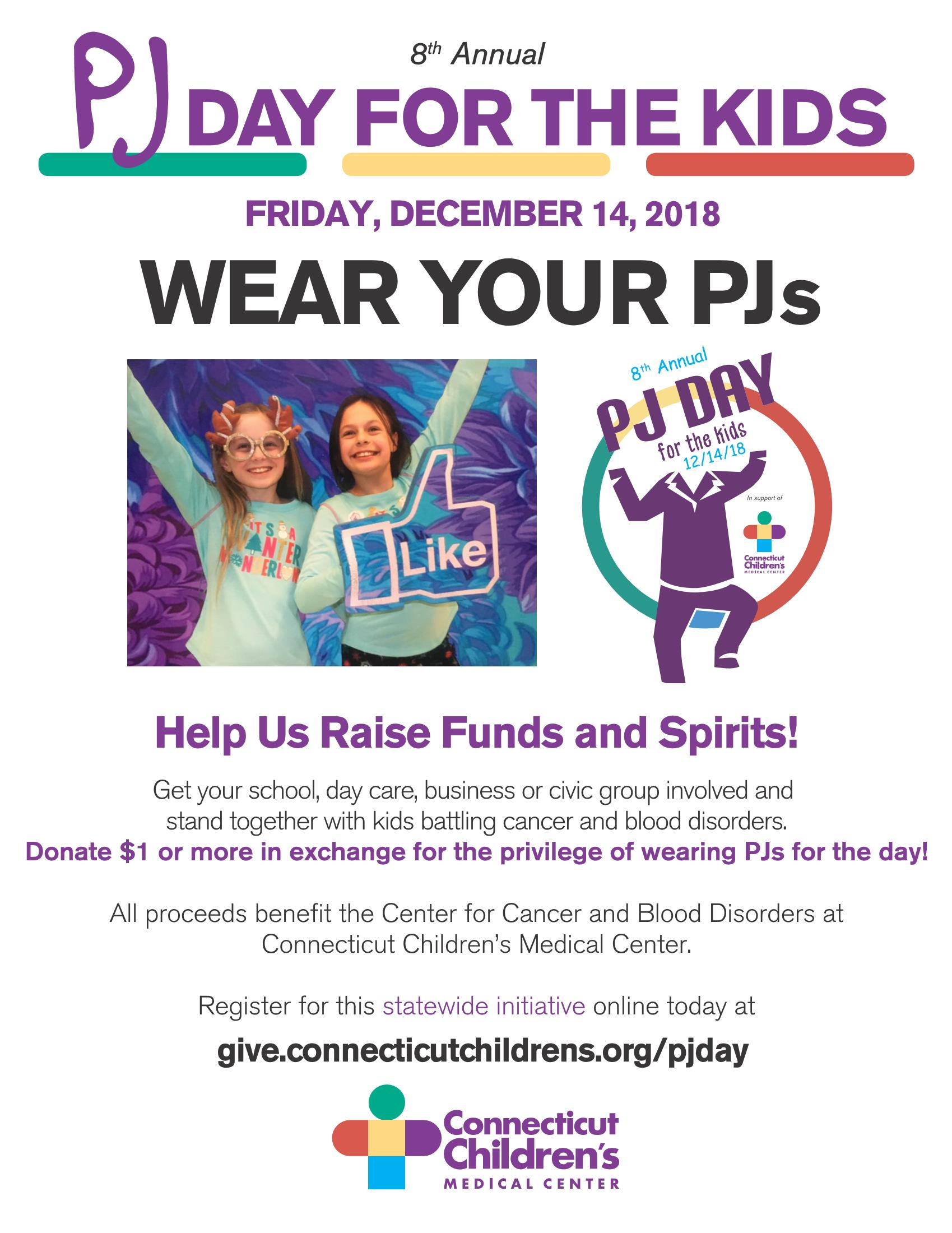 pj day flyer