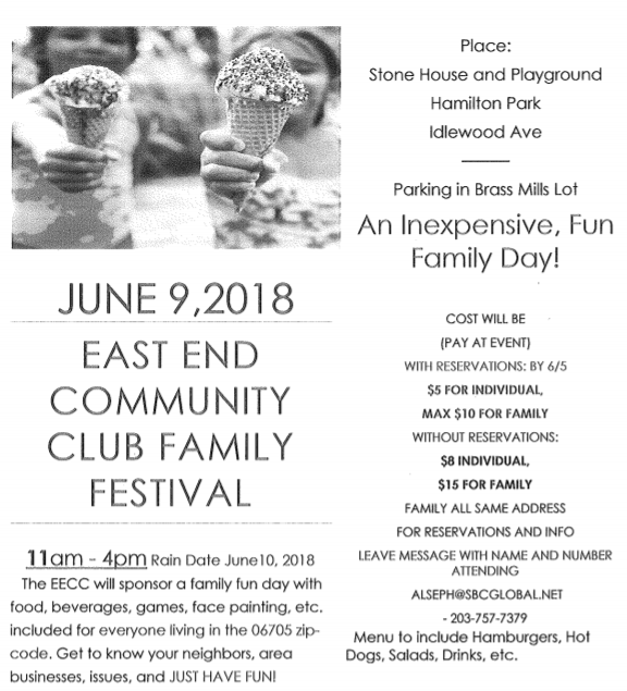 East End Community Club Family Day