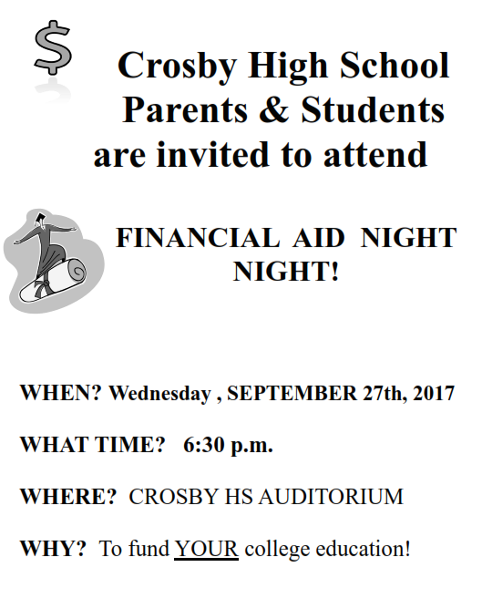 Financial Aid Flyer