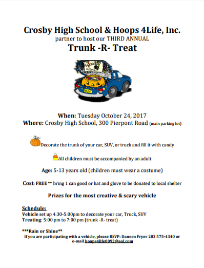 trunk r treat 2017