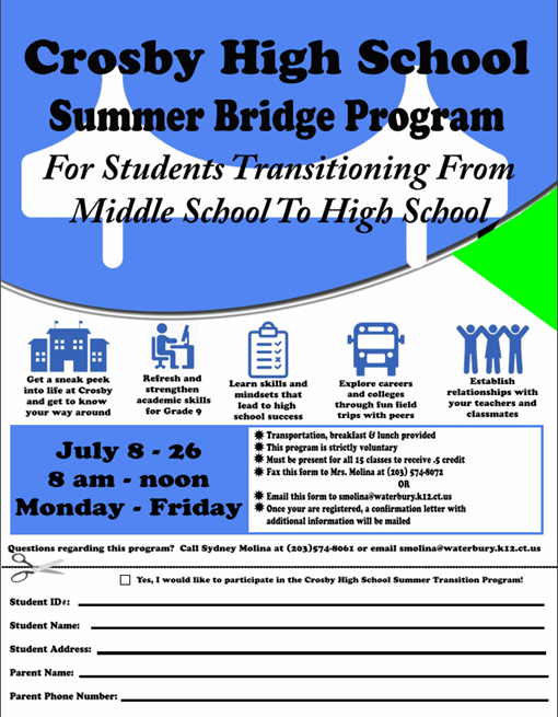 Summer Bridge Program