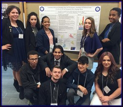 Crosby science national honor society students crosby high school crosby science national honor society students with their poster presentation at the connecticut conference on natural resources 2016 held 314 uconn malvernweather Gallery