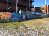 Local Artist Creates Mural for Duggan ES