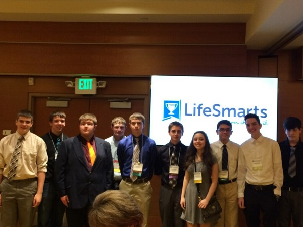 Crosby LifeSmarts 2015 with sister team from Arkansas