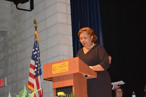 School Superintendent Dr. Verna Ruffin