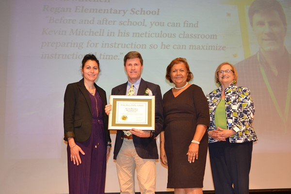 Kevin Mitchell, Regan Elementary School