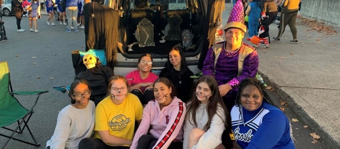 Crosby's Trunk r' Treat 2019