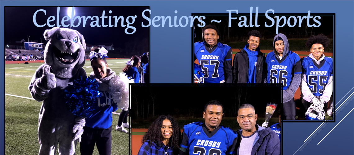 Football and Cheer Senior Night 2019