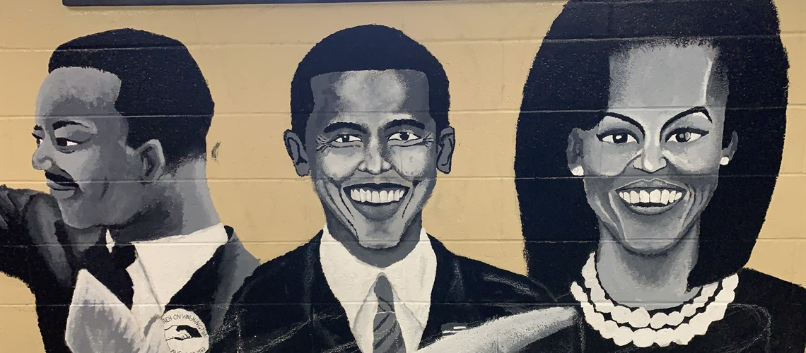 Unfinished West Side Mural 2020