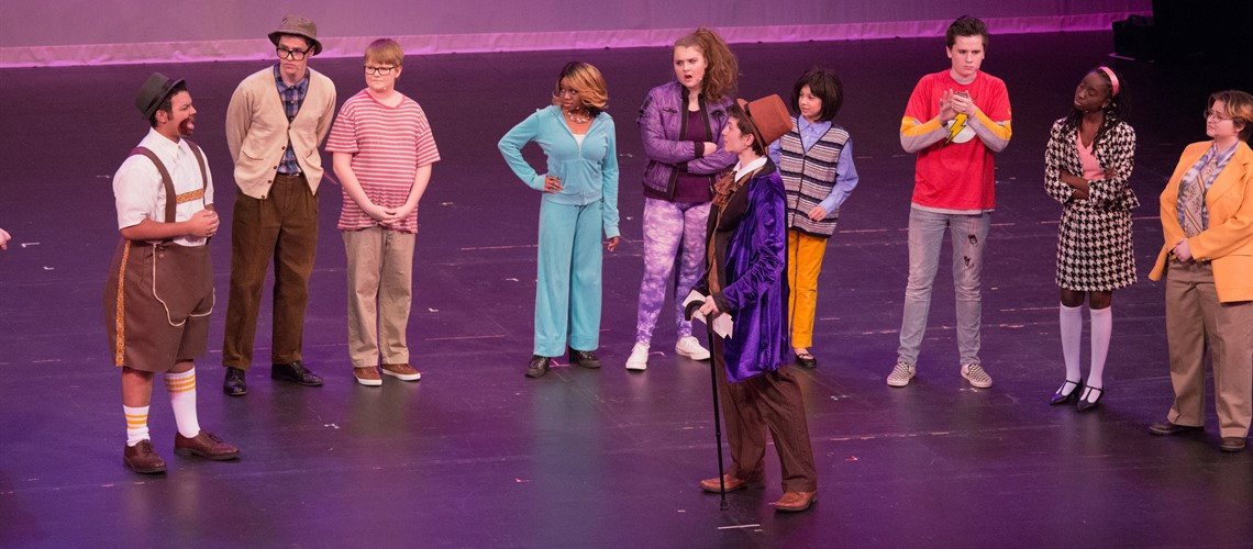 Students put on a production of 'Charlie and the Chocolate Factory' at Waterbury Arts Magnet School.