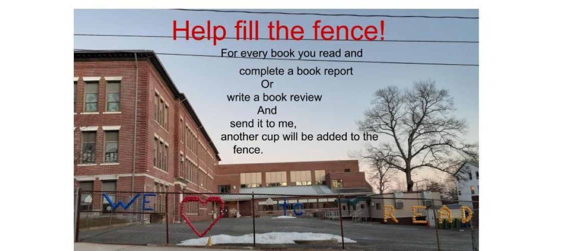 Read a book, Fill the Fence