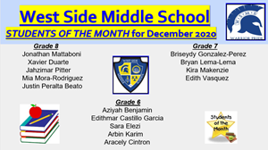 Student of the Month December
