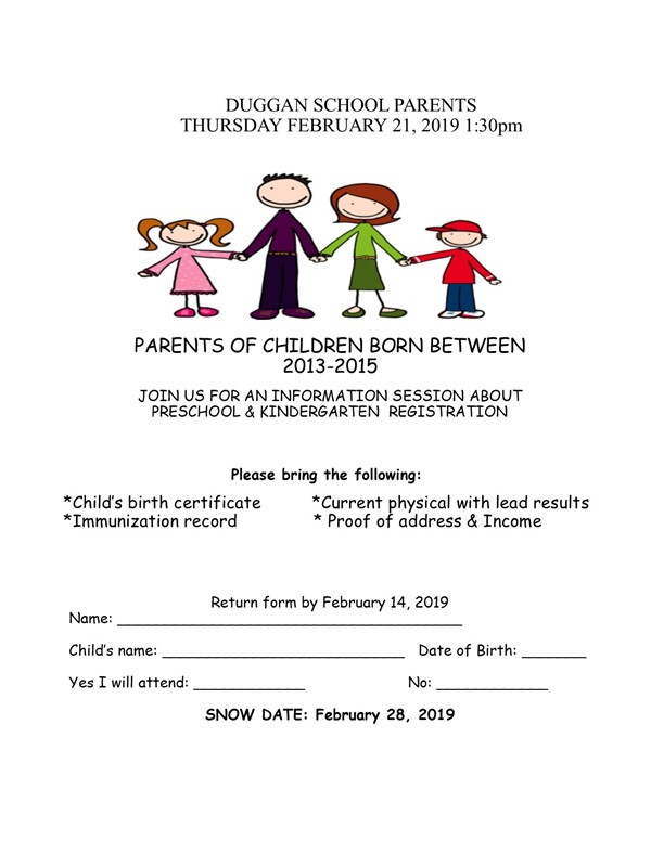 Parent Notice