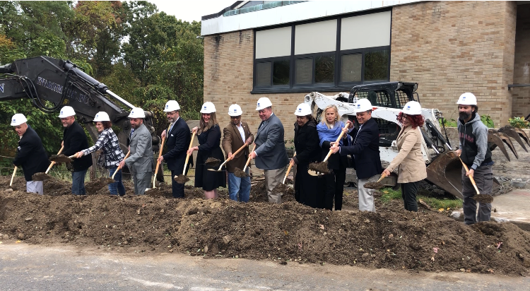 Wendell Cross School Groundbreaking- October 18, 2019